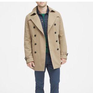 Banana Republic Trench Coat Jacket men's (M)